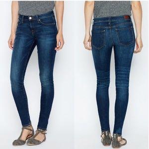 [Joie] Mid Rise Skinny Everest Wash Denim Jean